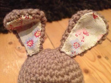 Crochet amigurumi bunny rabbit