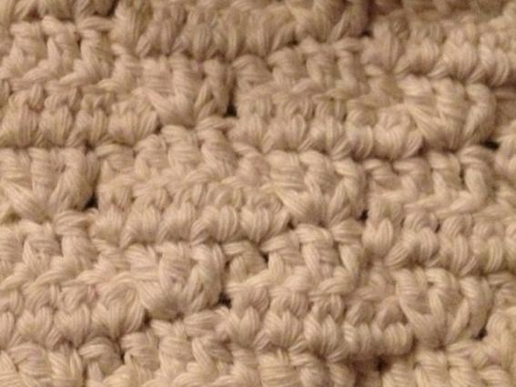 A new stitch design in Rico Creative Cotton