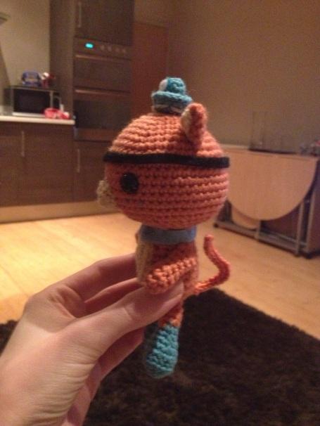 Crocheted Octonauts - Kwaazi