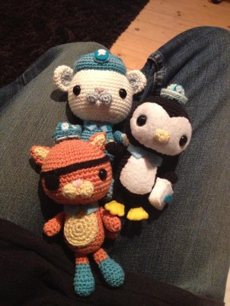 My crocheted Octonauts