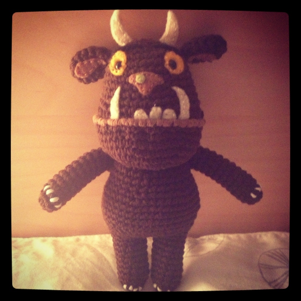 Oh help! Oh no! It s a nearly finished Gruffalo By Hook ...